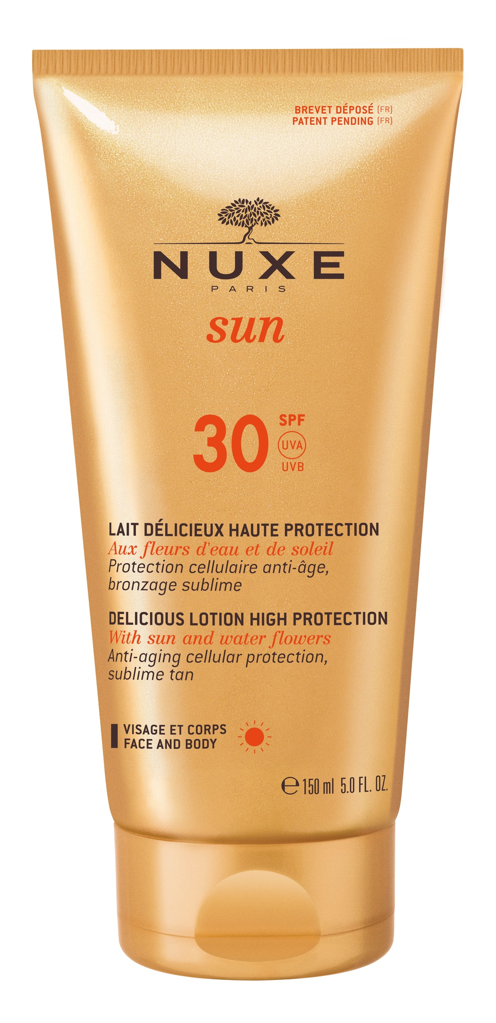 Nuxe Delicious Lotion High Protection SPF30