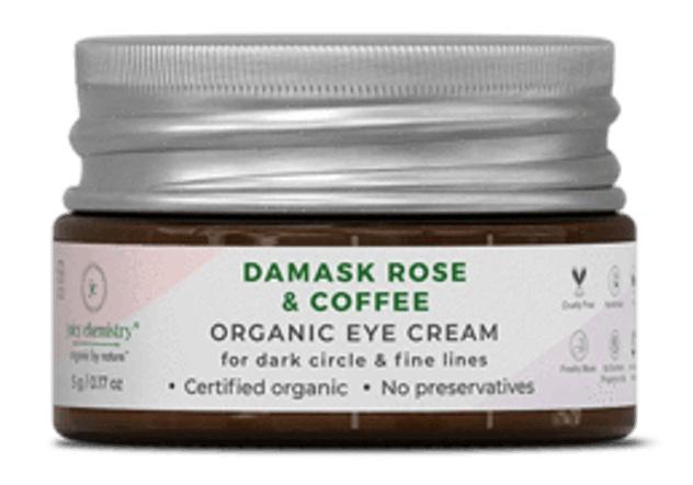 juicy chemistry Damask Rose & Coffee Eye Cream