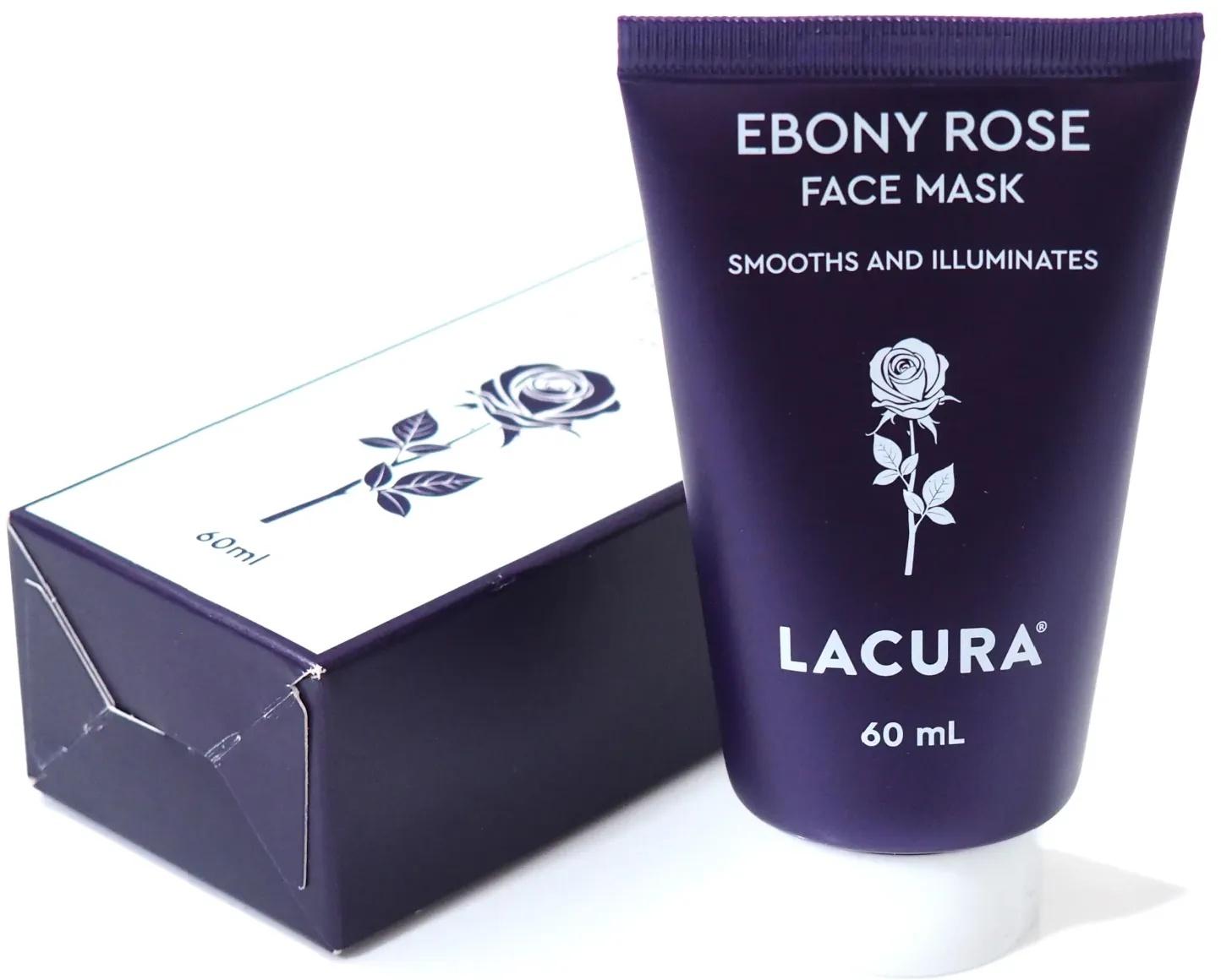 LACURA Ebony Rose Face Mask
