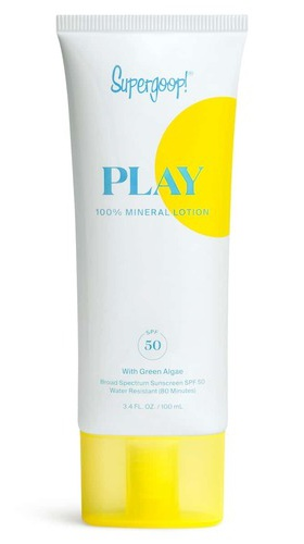 Supergoop! Play 100% Mineral Lotion Spf 50 With Green Algae