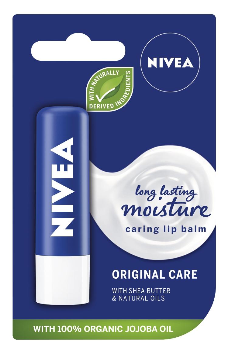 Nivea Original Care Caring Lip Balm
