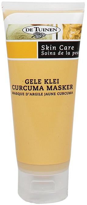 De Tuinen Gele Klei Curcuma Masker