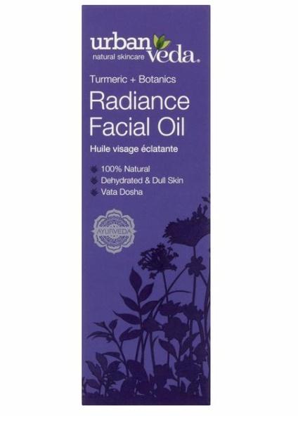 Urban Veda Turmeric + Botanics Radiance Facial Oil