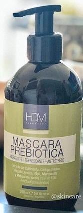 HDM Máscara Prebiótica Hidratante Refrescante