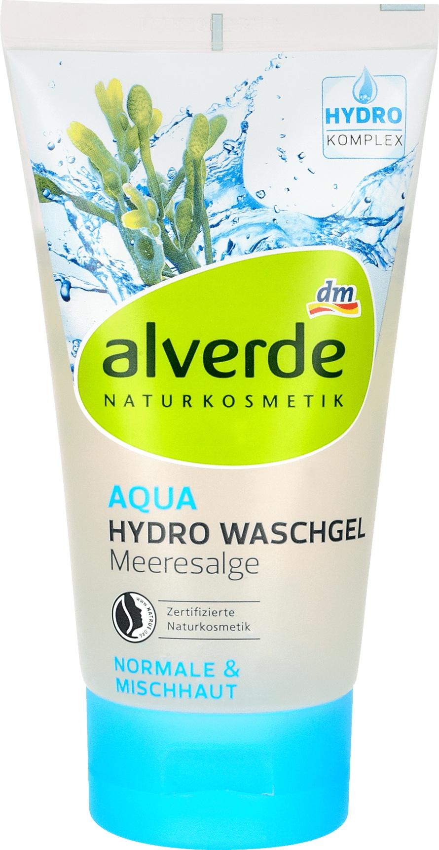 alverde Aqua Hydro Washgel