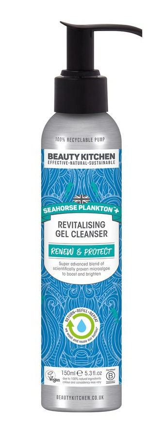 Beauty Kitchen Seahorse Plankton+ Revitalising Gel Cleanser