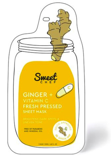 Sweet Chef Ginger + Vitamin C Fresh Pressed Sheet Mask
