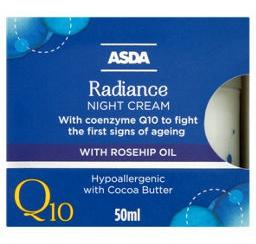 ASDA Q10 Radiance Night Cream