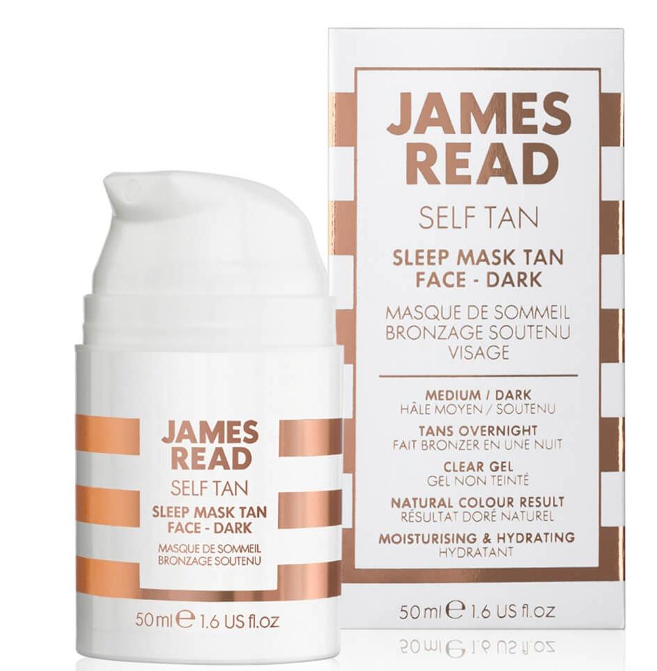 James Read Sleep Mask Tan Face - Dark