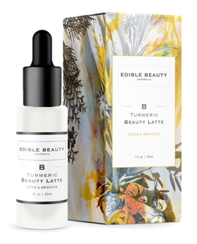Edible Beauty Tumeric Beauty Latte Serum