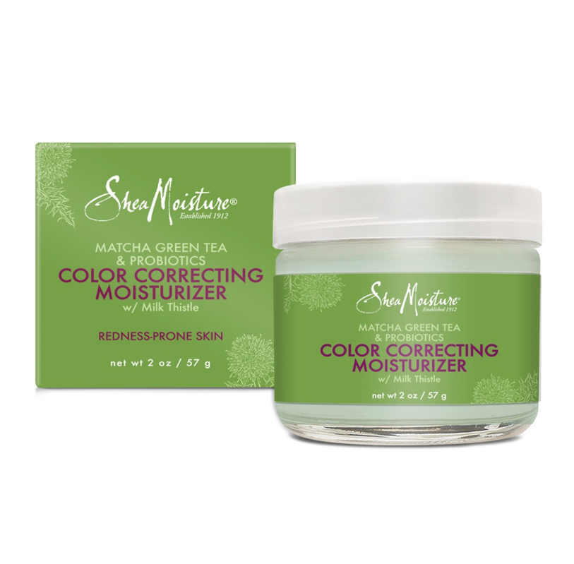 SheaMoisture Matcha Green Tea And Probiotics Color Correcting Moisturizer