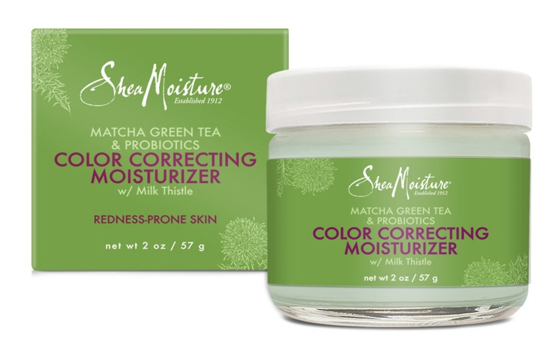 SheaMoisture Matcha Green Tea And Probiotics Color Correcting Moisturizer