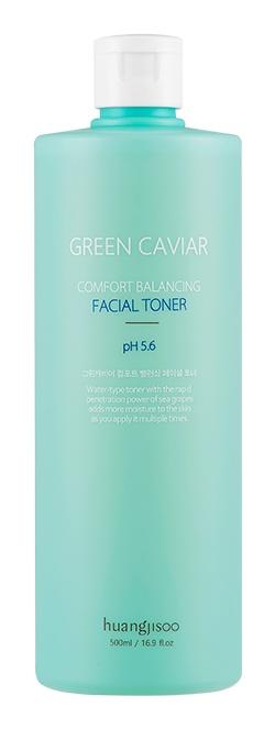 huangjisoo Green Caviar, Comfort Balancing Facial Toner