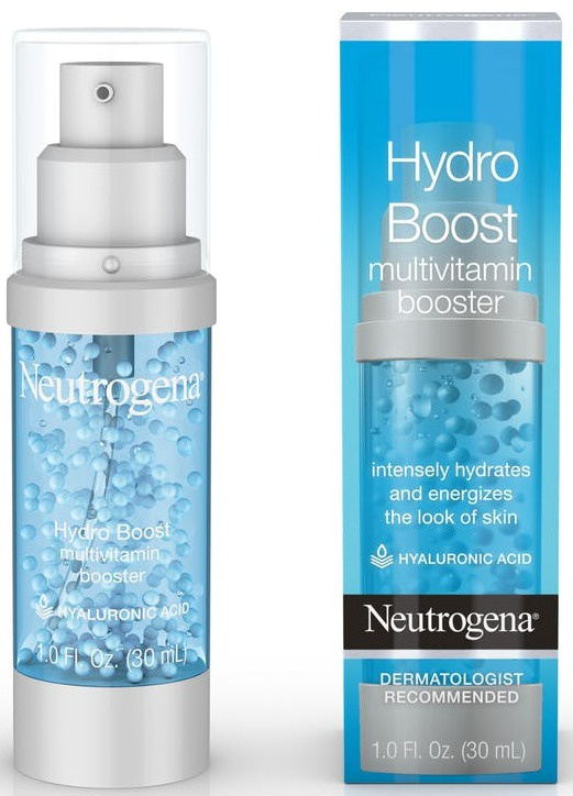 Neutrogena Hydro Boost Multivitamin Booster Face Serum With Hyaluronic Acid