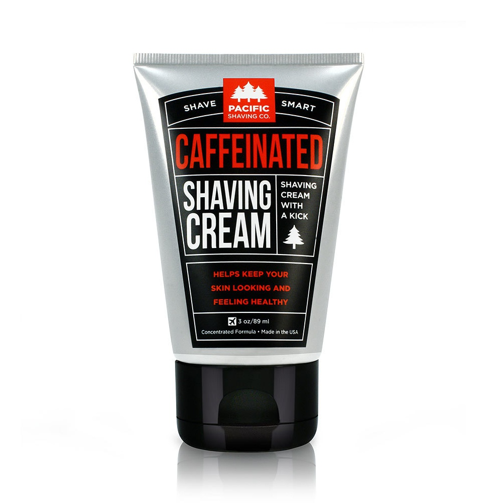 Pacific Shaving Co. Caffeinated Shaving Cream
