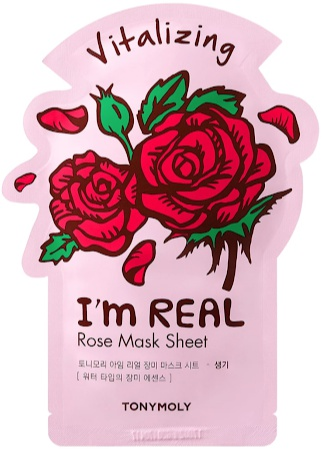 TonyMoly I'm Real Rose Sheet Mask