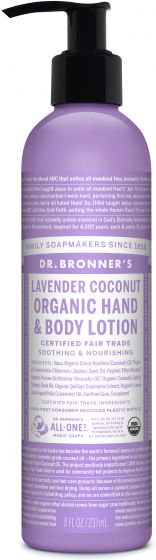 Dr. Bronner's Lavender Coconut Organic Hand And Body Lotion