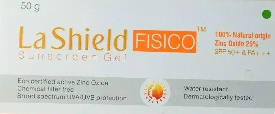 La Shield FISICO Sunscreen Gel  Spf 50+ Pa+++