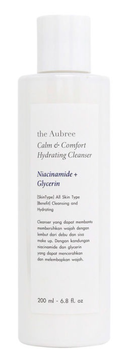 the Aubree Calm And Comfort Hydrating Cleanser