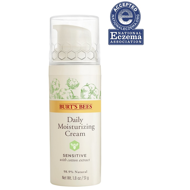 Burt's Bees Daily Face Moisturizer Cream For Sensitive Skin