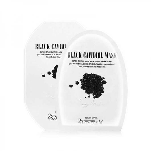 23 Years Old Black Cavidiol Mask
