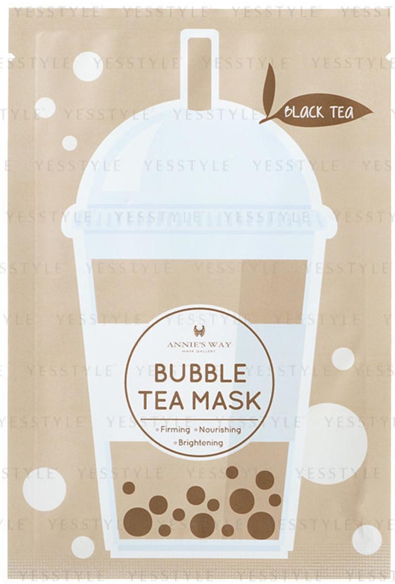 Annie's Way Bubble Tea Mask - Black Tea