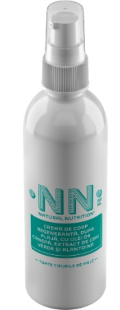 NN Natural Nutrition Regenerative After Sun Body And Face Cream With Hemp Oil, Green Tea Extract And Allantoin (150 Ml)