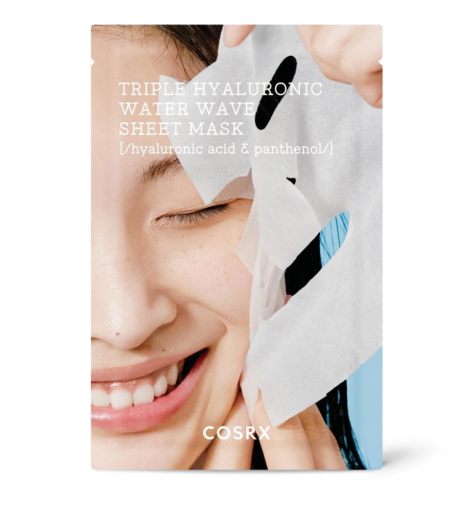 COSRX Triple Hyaluronic Water Wave Sheet Mask