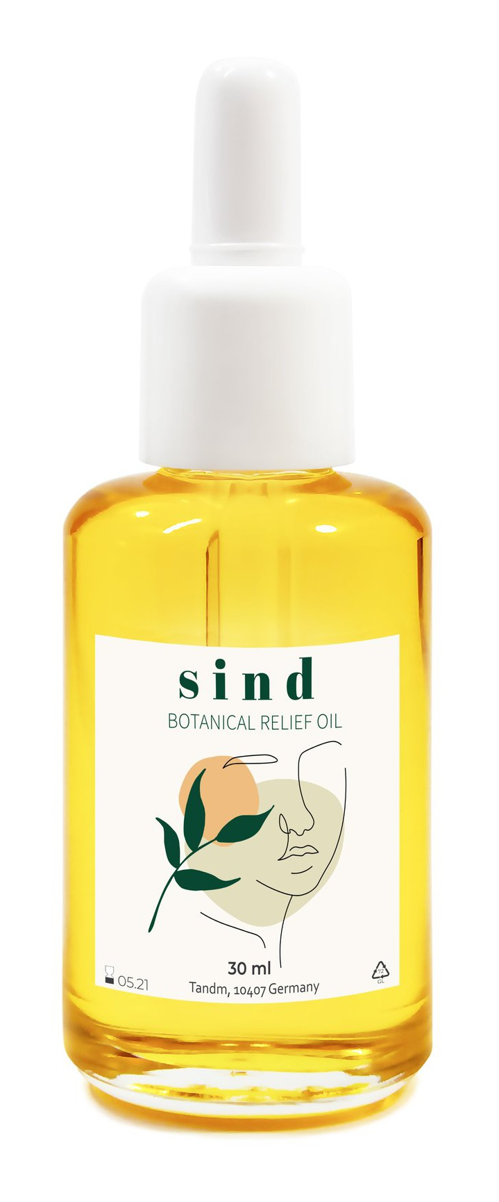 Sind Beauty Botanical Relief Oil