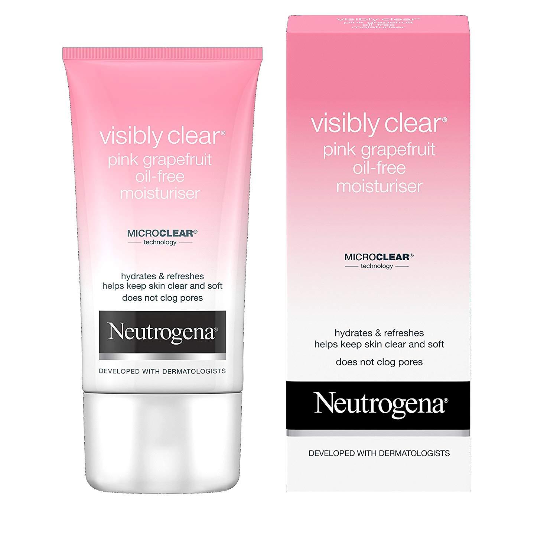 Neutrogena Visibly Clear Pink Grapefruit Oil-Free Moisturiser