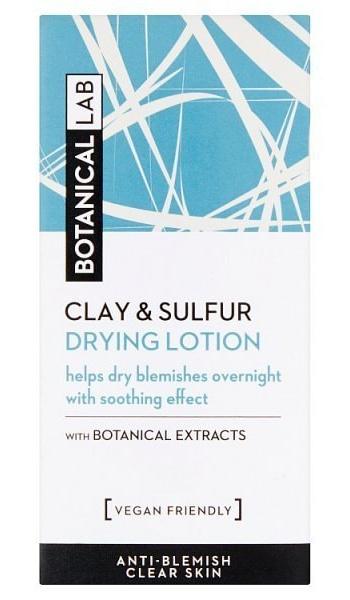 Botanical Lab Clay & Sulfur Drying Lotion