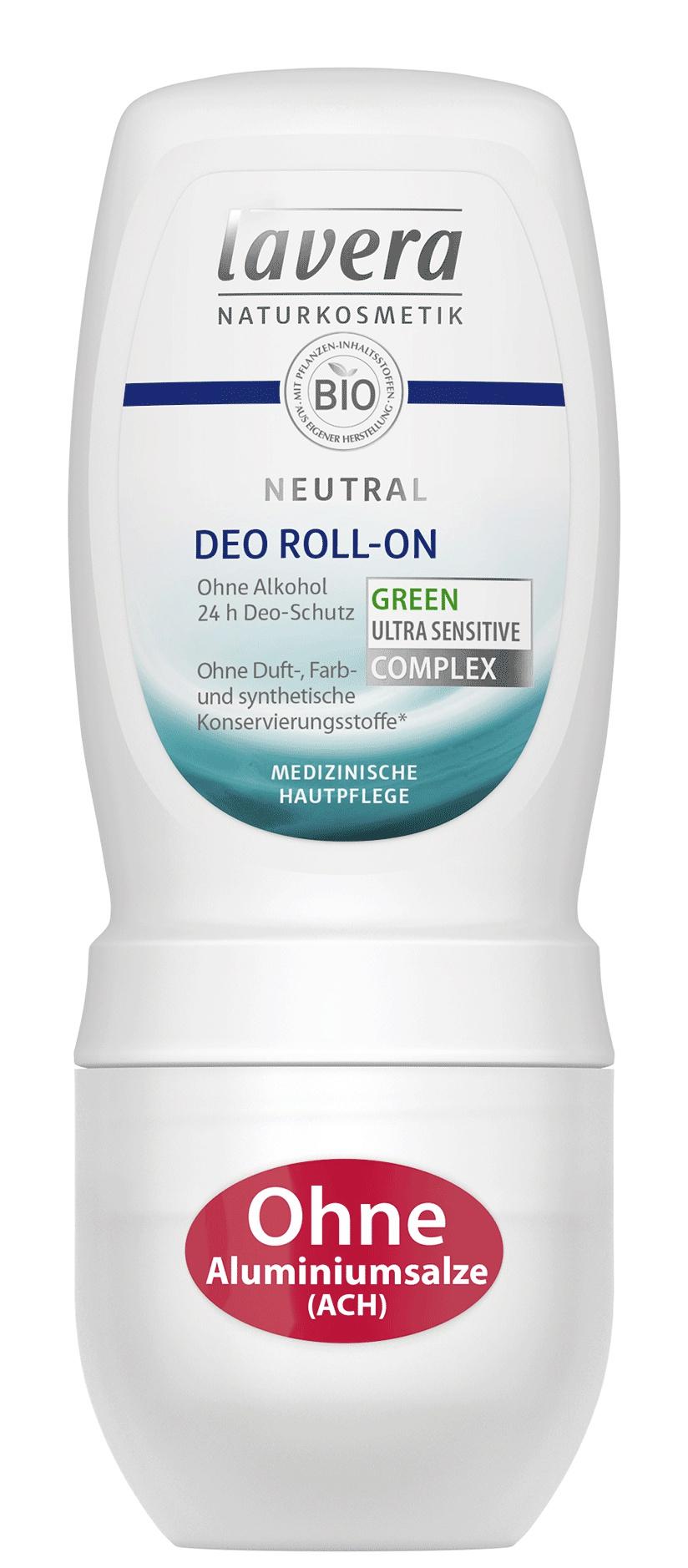 lavera Neutral Deo Roll-on Ultra Sensitive