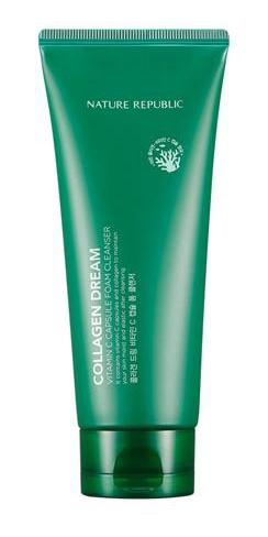 Nature Republic Collagen Dream Vitamin C Capsule Foam Cleanser