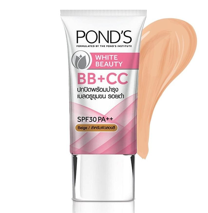 Pond's White Beauty Bb+Cc Cream Beige 25G Tube