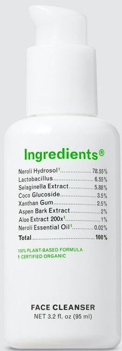 ingredients Face Cleanser
