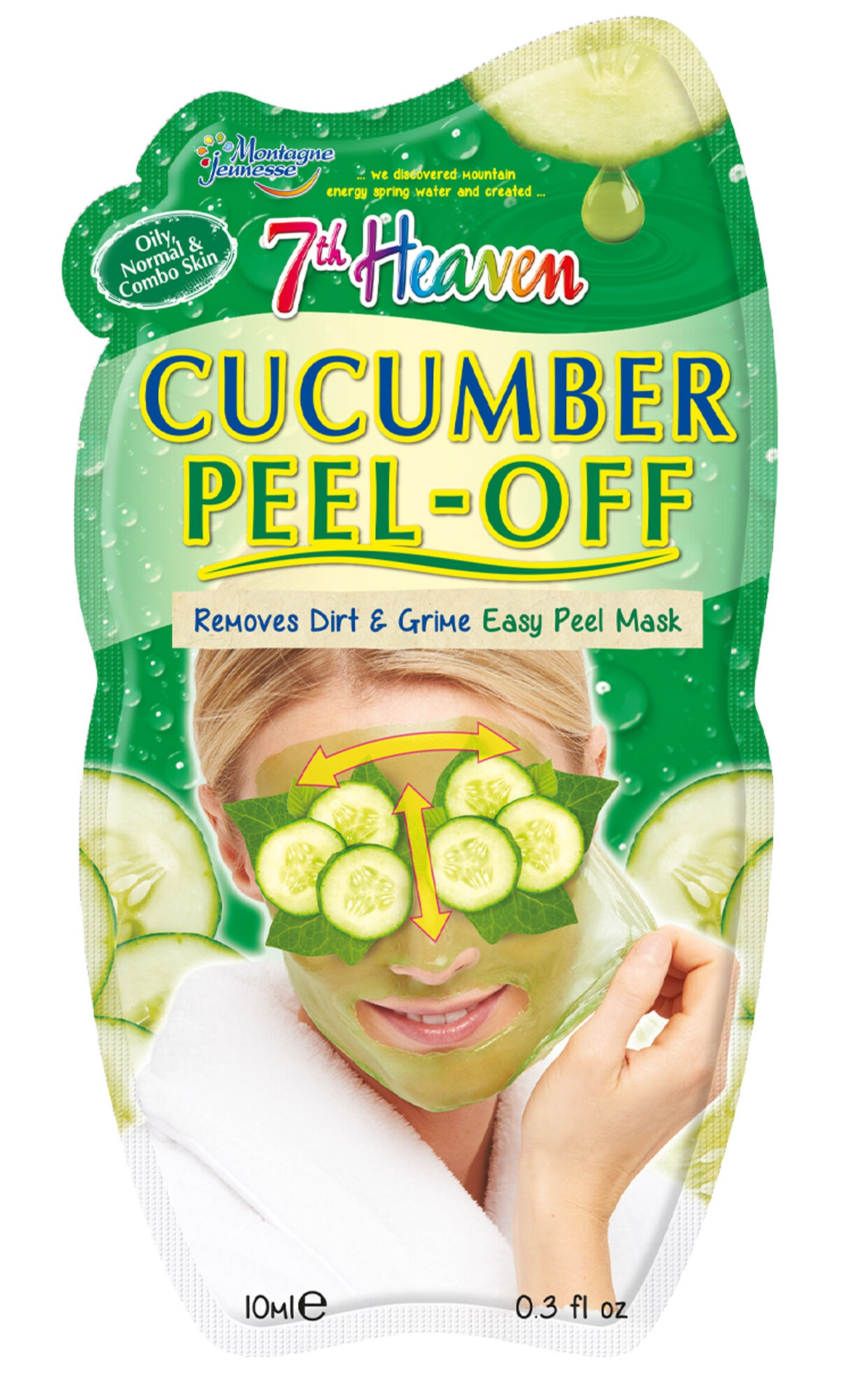 7th Heaven Cucumber Peel-off