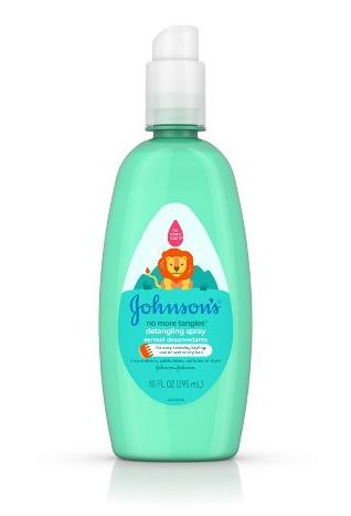 Johnson's baby No More Tangles Detangling Spray