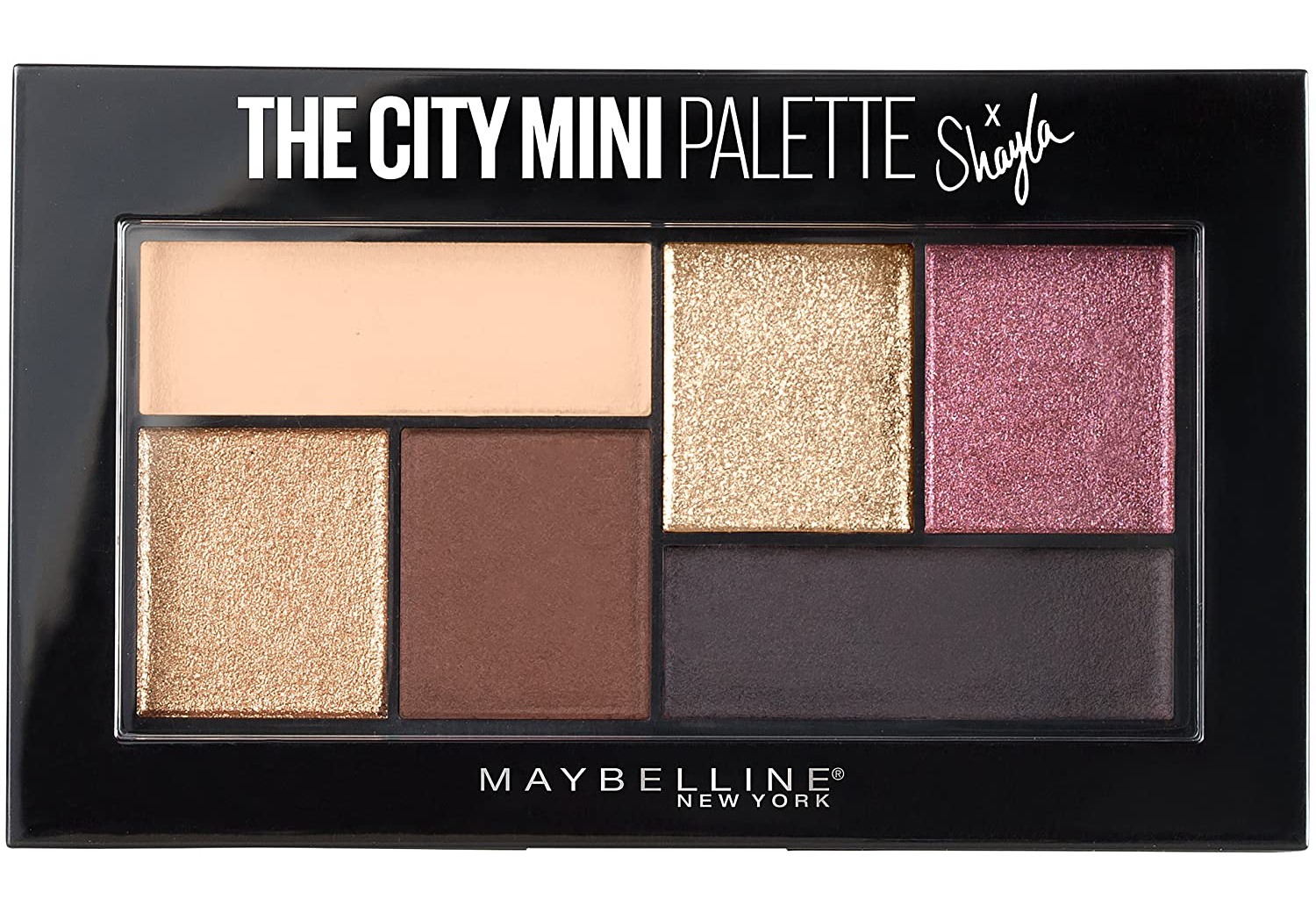 Maybelline The City Mini Eyeshadow Palette X Shayla
