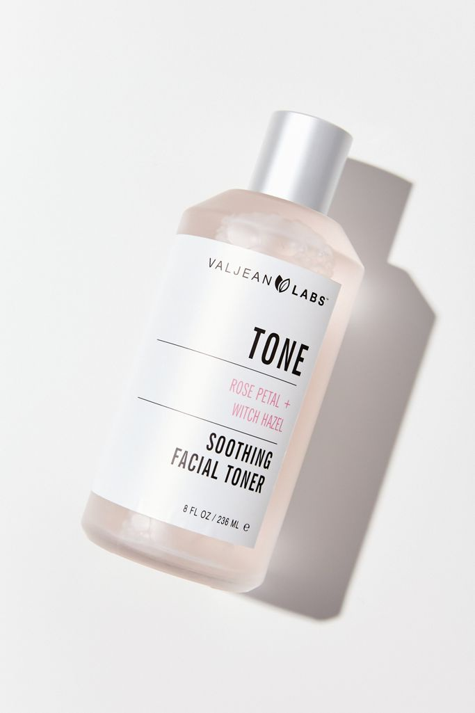 Valjean Labs Tone Soothing Rosewater + Witch Hazel Facial Toner
