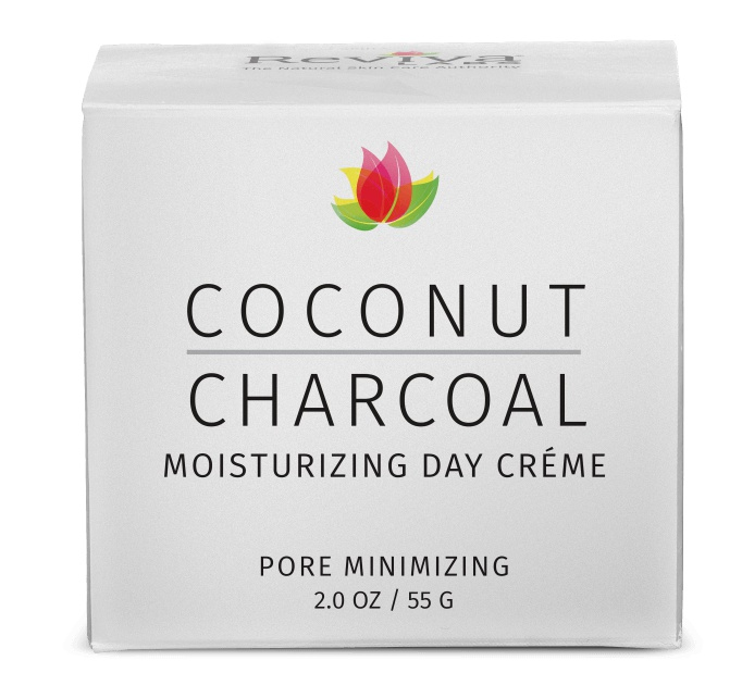Reviva Labs Coconut Charcoal Moisturizing Day Crème