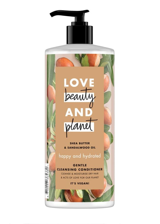 Love beauty and planet Shea Butter & Sandalwood Oil Gentle Cleansing Conditioner
