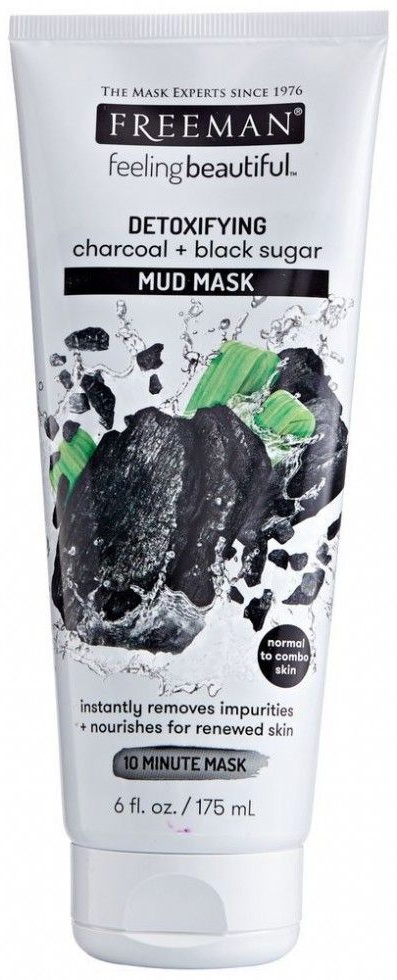 Freeman beauty Detoxifying Charcoal + Black Sugar
