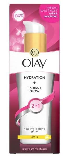 Olay 2In1 Hydration + Radiant Glow Moisturiser Lotion