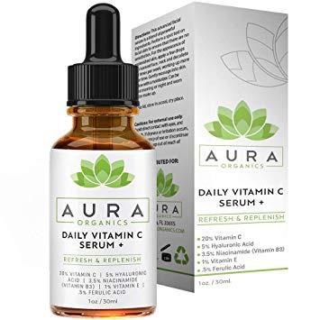 Aura Organics Daily Vitamin C Serum