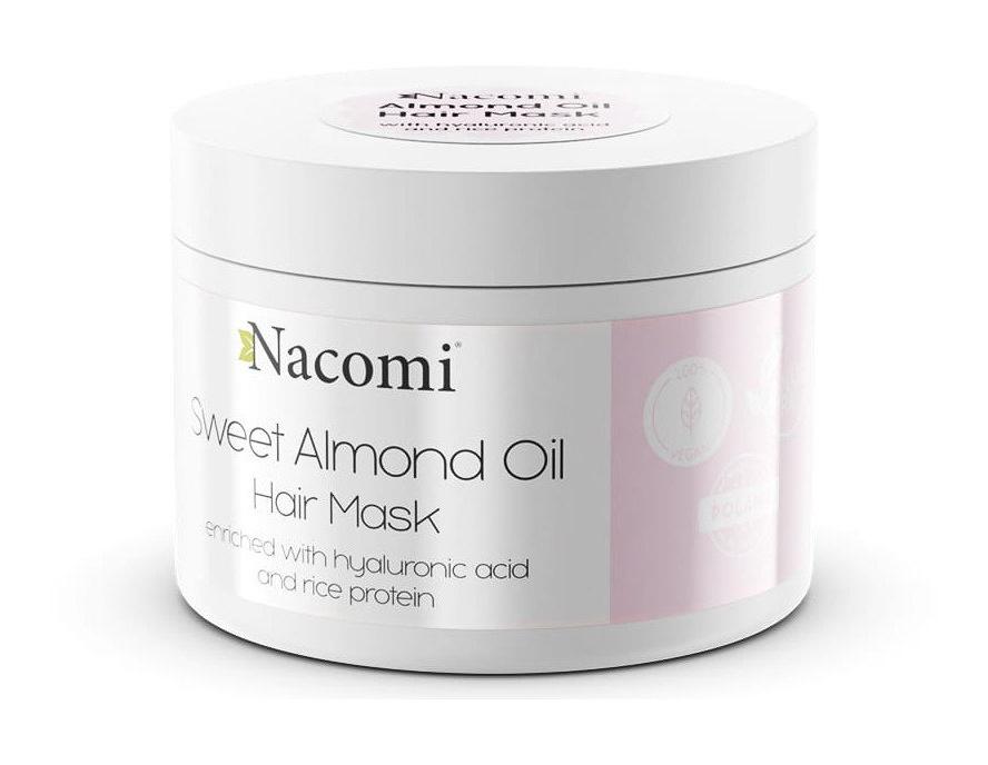 Nacomi Sweet Almond Oil Hair Mask