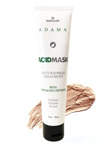 Zion Health Adama, Acid Mask, Anti-Wrinkle Treatment