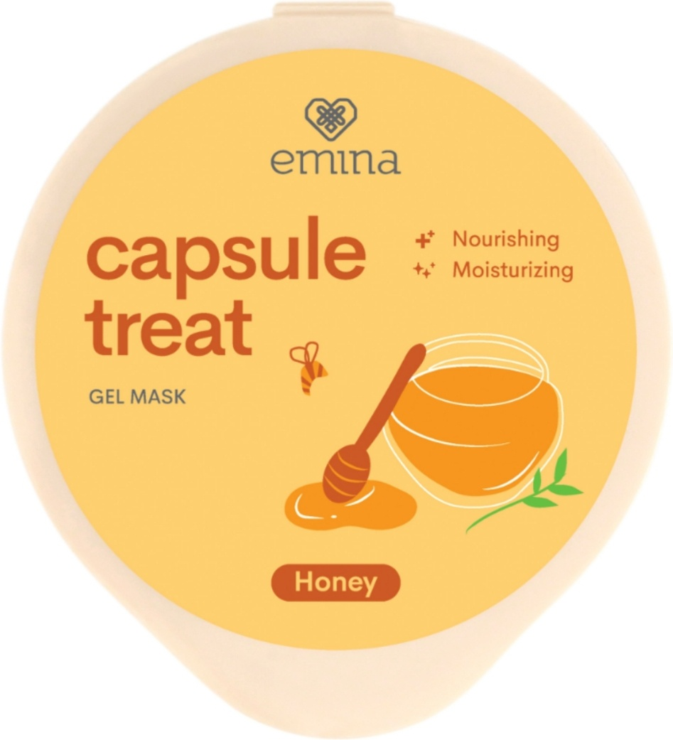 Emina Capsule Treat Gel Mask Honey
