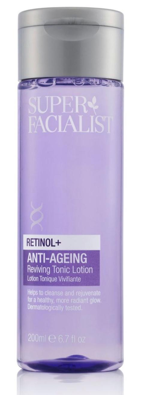 Super Facialist Retinol+ Anti-Ageing Reviving Tonic Lotion