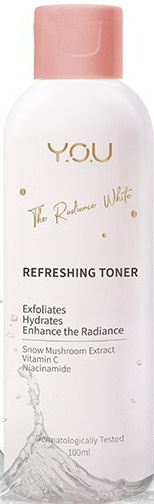 Y.O.U. The Radiance White Refreshing Toner
