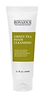 BONAJOUR Green tea foam cleansing